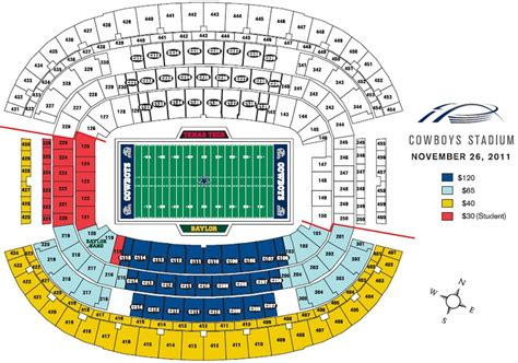 texas stadium map dallas cowboys seat map dallas cowboys stadium seat map texas usa