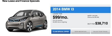lease a fiat for 99 alt energy autos bmw i3 lease deal 99 per month