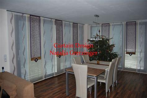 wohnzimmer gardinen mit balkontür eck gardine f 252 rs wohnzimmer mit formsch 246 nen dekonetzen