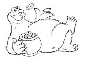 cookie monster coloring page free coloring pages on art