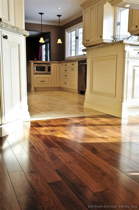 kitchen wood flooring ideas pictures of kitchens traditional off white antique