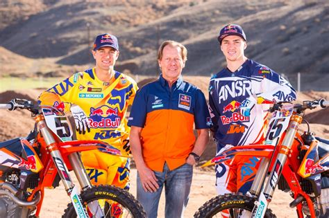 Ktm Apparel Usa Bull Ktm Factory Team Columnm
