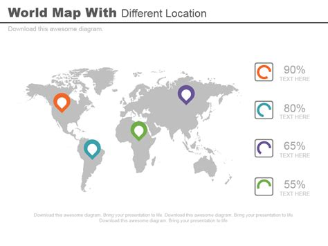 powerpoint design location learn to create location pin icons in powerpoint