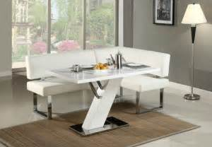 Modern White Dining Room Sets 23 Space Saving Corner Breakfast Nook Furniture Sets Booths