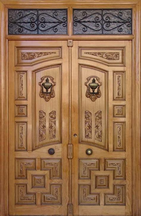pin  zahid hussain abid  wood doors double door