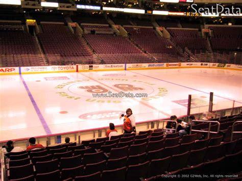 Section 124 Fargo Center by Philadelphia Flyers Fargo Center Section 124 Rateyourseats