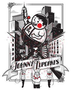 Topi Trucker Johnny Cupcakes Uzgy creative illustrations by christopher monro delorenzo johnny cupcakes junk food and food