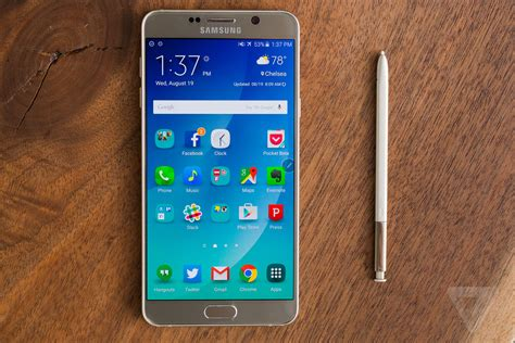 Samsung Galaxy Note 5 samsung galaxy note 5 review the verge