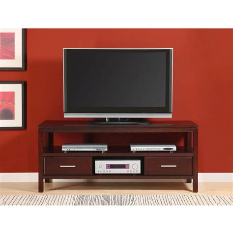60 tv entertainment center entertainment centers 60 quot tv stand in chocolate ash by