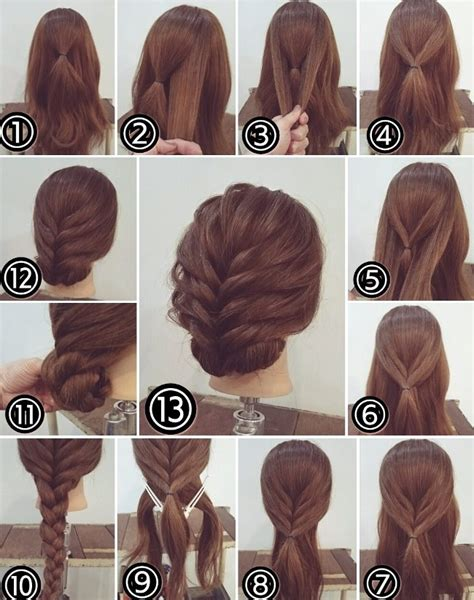 cute hairstyles do it yourself cute easy updos for long hair how to do it yourself 2018