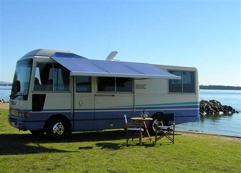 awning for motorhomes awnings for motorhomes caravans horse floats trucks nz