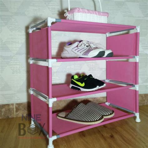 Harga Rak Sepatu Susun 4 jual rak sepatu 4 susun rak sepatu minimalis rak sepatu
