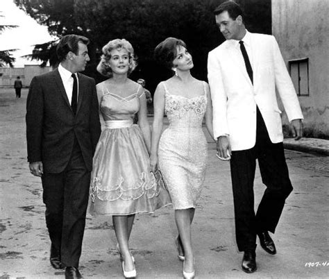 bobby darin and sandra dee stand out above the crowd gina lollobrigida