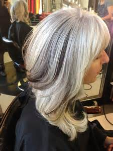 gray hair with lowlights lowlights for gray hair pictures short hairstyle 2013