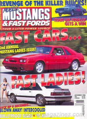 mustangs and fast fords back issues backissues mustangs fast fords november