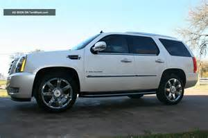 Cadillac Escalade 22 Rims 2009 Cadillac Escalade 22 Quot Chrome Wheels Dvd Loaded