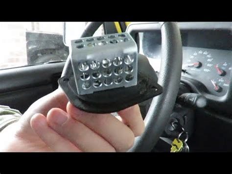 blower motor resistor jeep sport jeep heater blower motor resistor fix 2 5 sport xj diesel 1997 2001 fan speed how