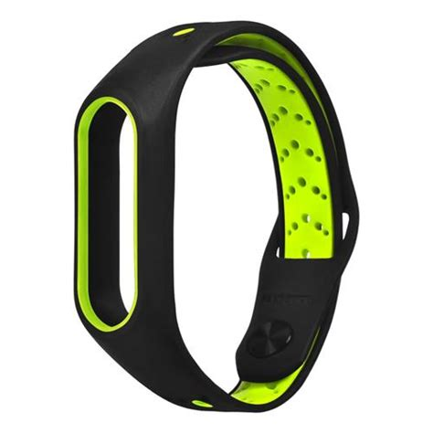 Xiaomi Mi Band Bracelet Black xiaomi mi band 2 smart bracelet replacement black green