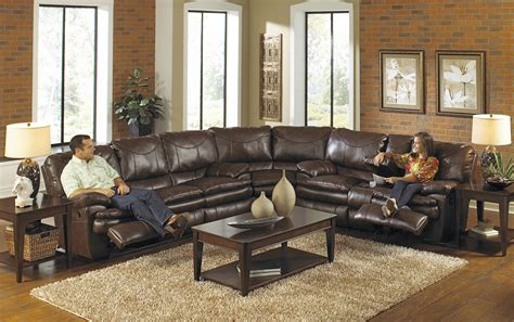 leather reclining sectional sofas sectional sofa recliner smalltowndjs