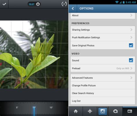 instagram apk for android 2 1 instagram v4 2 for android from play store apk droid doc