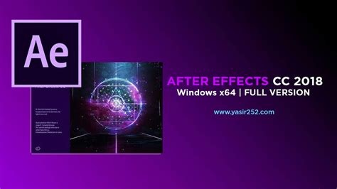 Adobe After Effect Cc 2018 64 Bit Version adobe after effects cc 2018 version patch