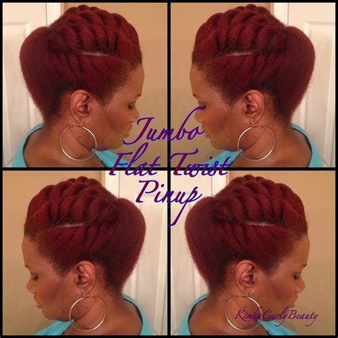 pin up braid styles african american video tutorial 5 flat twist pompadour pin up global