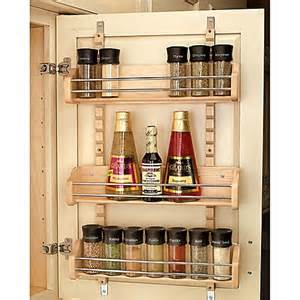 Adjustable Spice Rack Buy Rev A Shelf 174 Large Adjustable Door Mount Spice Rack