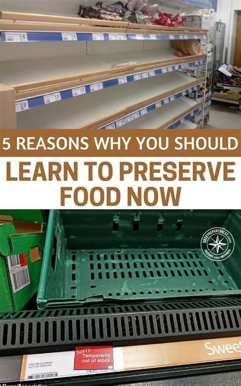 5 reasons why you should learn to preserve food now