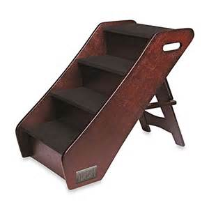 Wooden Bed Stairs by Animal Planet Wooden Pet Stairs Www Bedbathandbeyond Ca