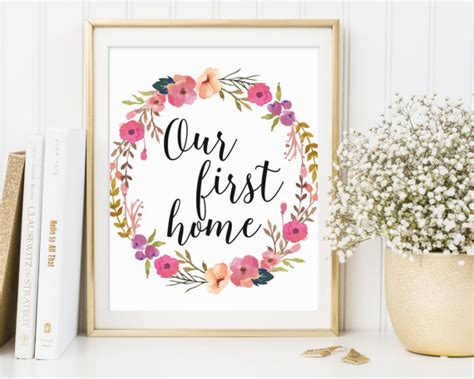 our first home picmia our first home printable housewarming wall art housewarming