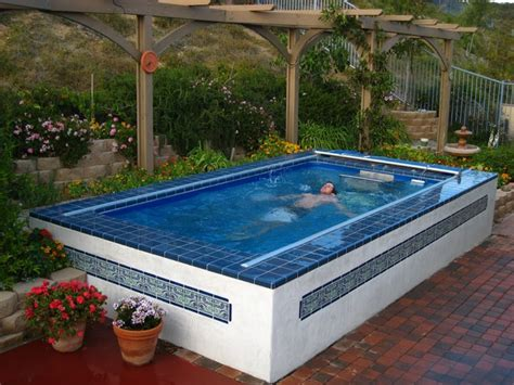 backyard pool store original endless pools 174 exercise pools therapy pools