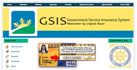 How To Check Your Personal Record How To View Or Check Gsis Records