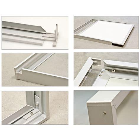 pannelli controsoffitto 60x60 telaio frame cornice per pannello quadrato 60x60 cm