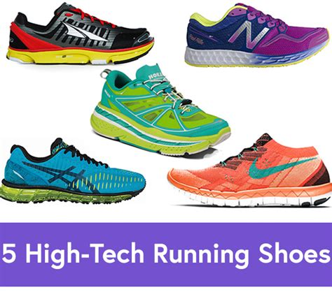 different types of athletic shoes 5 high tech running shoes for every type of runner