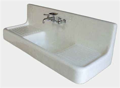 60 quot farmhouse drainboard sink classic clawfoot tub