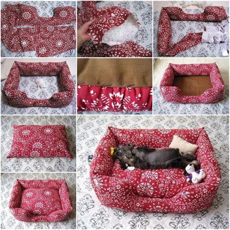 diy dog sofa 20 adorable diy pet bed ideas