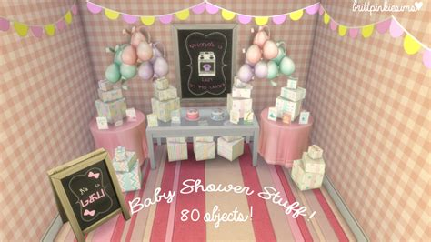 sims 4 cc baby stuff the sims 4 baby shower stuff i don t know about you guys