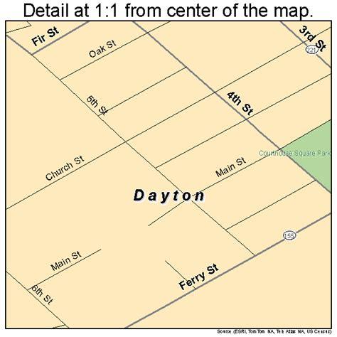 map of oregon district dayton ohio dayton oregon map 4118250