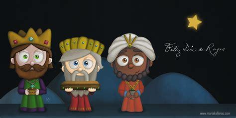 imagenes de los reyes magos kawaii feliz dia de reyes by kellerac