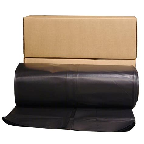 husky 12 ft x 100 ft clear 6 mil plastic sheeting