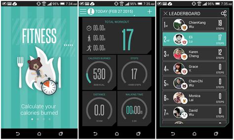 fitness tracker app for android htc releases its fit fitness tracking app to the play store