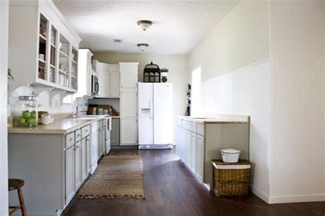 The Lettered Cottage Kitchen by Fringed Jute Rug Transitional Kitchen The Lettered