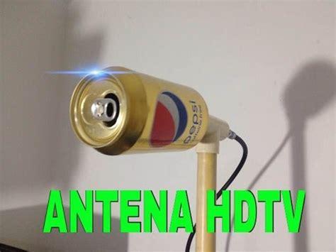 antenna tv interna potente antena hd casera ultra potente con lata de pepsi ibowbow