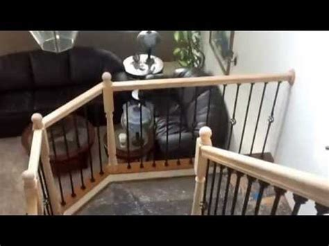 Stair Banister Kits Iron Baluster Stair Railing Diy Youtube