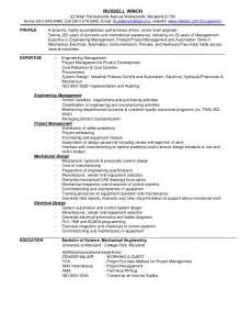 Russell Winch Resume