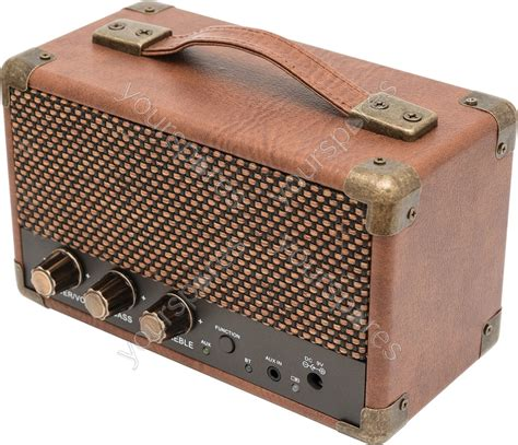 Speaker Bluetooth Mixstyle Mini Westwood Retro Style Bluetooth 174 Speaker Small Brown 170 631uk By Gpo