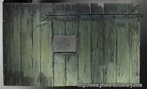 Barn Doors Definition barn door photo picture definition at photo dictionary