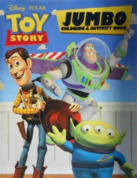 Buzz Lightyear Wall Stickers toy story jumbo coloring amp activity book by disney pixar