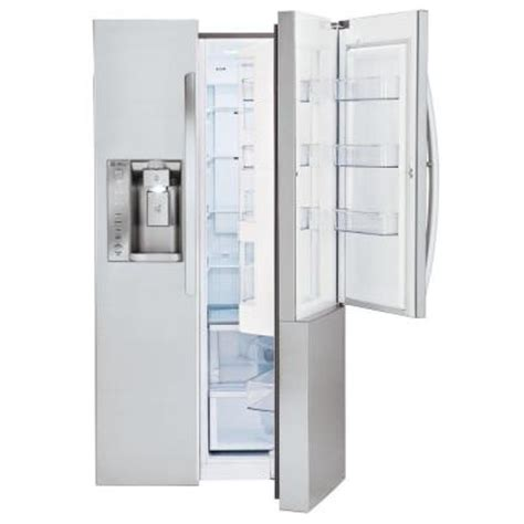 lg electronics 26 0 cu ft side by side refrigerator in