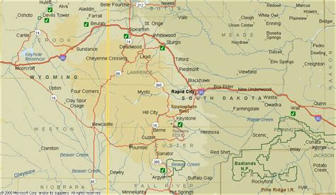 sturgis usa map map of rapid city sd and surrounding area usa maps us